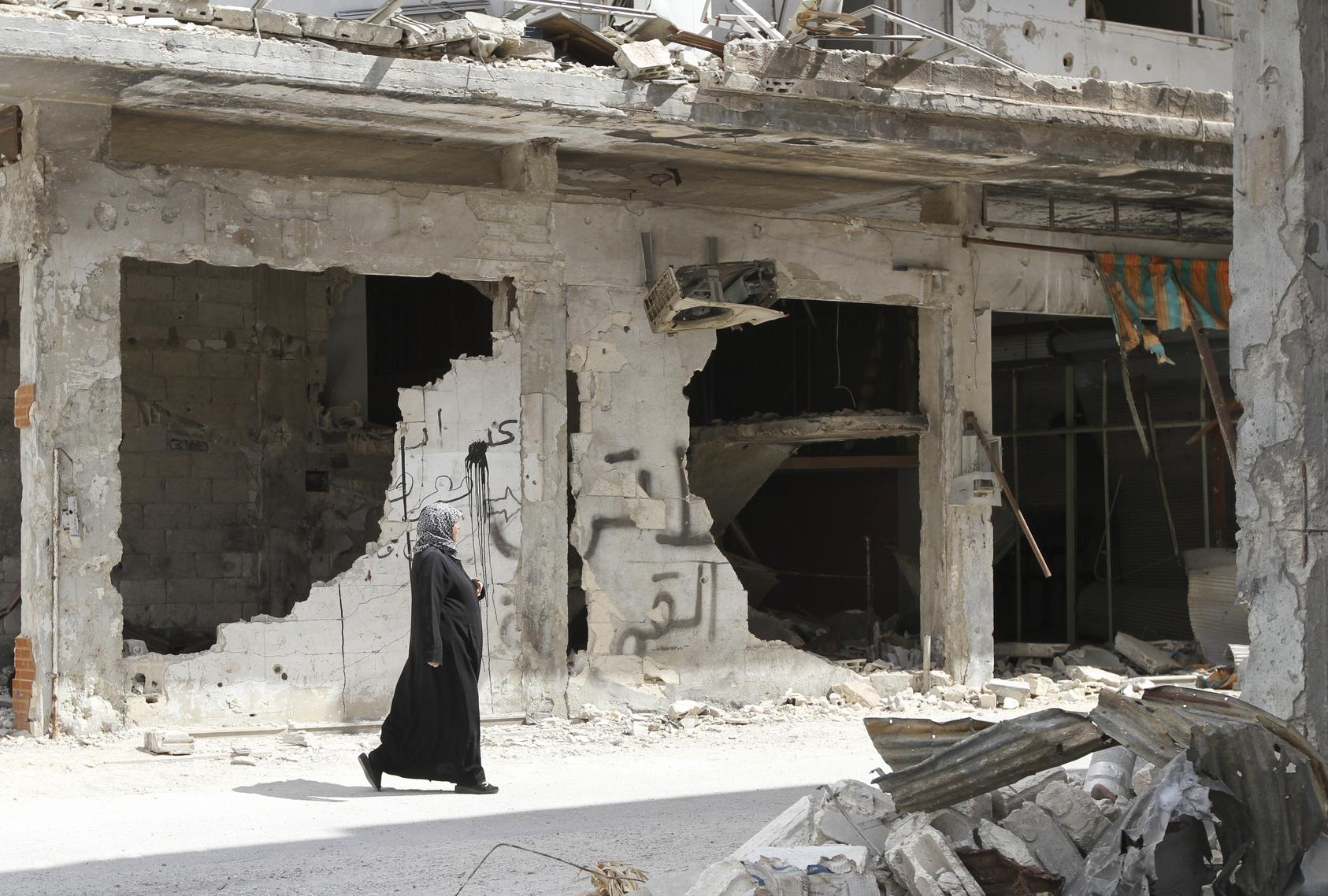 Homs, Syria, September 2013. Copyright: bwb-studio