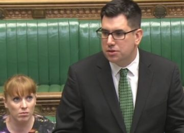 'Cutting, not transforming': Labour's Richard Burgon offers qualified support for Prisons Bill