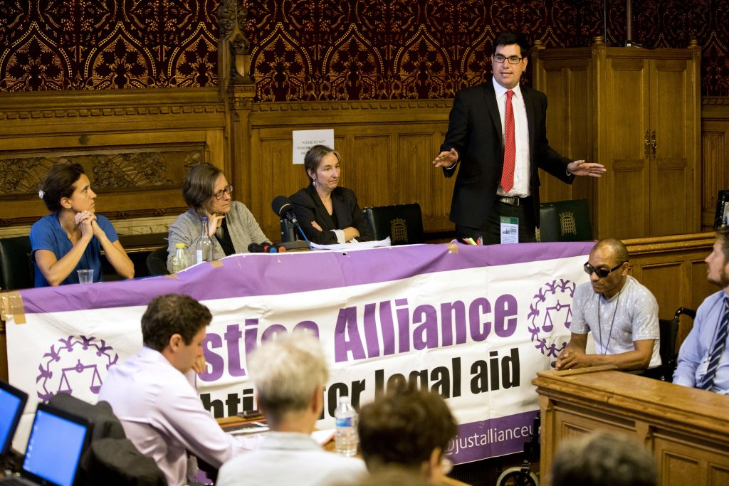 Justice Alliance launch of Proof Magazine, the case for legal aid. Houses of Parliament, hosted by Richard Burgion MP. Westminster, London.  © Jess Hurd/reportdigital.co.uk